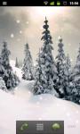 Live Snow Wallpaper screenshot 1/2