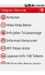 Telepon Darurat Indonesia screenshot 1/4