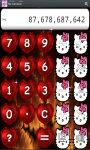Hello Kitty Calculator screenshot 3/5