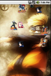 Naruto Sasuke Live Wallpaper screenshot 2/4