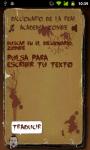 Dicionario Español-Zombie screenshot 1/2