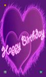 Happy Birthday HD Wallpaper screenshot 1/6