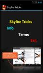 Skyfire Tricks screenshot 2/4