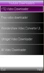 Free Youtube Downloaders screenshot 1/1