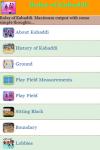 Rules of Kabaddi screenshot 2/3
