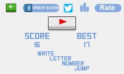 Write Letter Number Jump screenshot 3/3