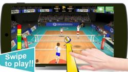 Volleyball Champions 3D 2014 secure screenshot 2/6