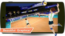 Volleyball Champions 3D 2014 secure screenshot 3/6