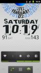Arc Calendar Live Wallpaper screenshot 1/6