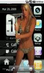 Screen Wash Girl Live Wallpaper screenshot 3/3