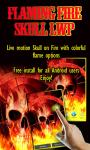 Flaming Fire Skull LWP free screenshot 1/3