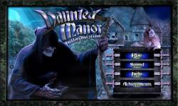 Free Hidden Objects Game - Haunted Manor screenshot 1/4