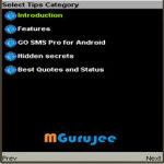 Go SMS Pro Tips screenshot 3/3