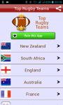 Top Rugby International Teams screenshot 1/3