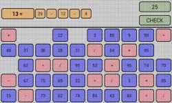 Math workout - countdown screenshot 1/3
