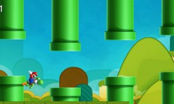 Mario And Yoshi Flappy Adventures screenshot 1/4