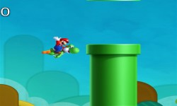 Mario And Yoshi Flappy Adventures screenshot 3/4