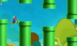 Mario And Yoshi Flappy Adventures screenshot 4/4