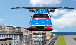 Flying Limo Car Driving Fever screenshot 3/6