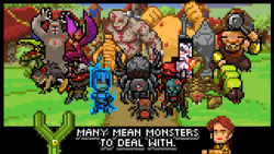 Knights of Pen and Paper active screenshot 1/6