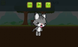 Little cat run and jump screenshot 3/4