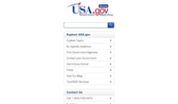 USAgov - General Service Administration screenshot 1/1