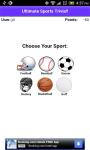 Sports Trivia App screenshot 2/4