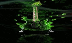 Grass Guitar Live Wallpaper screenshot 2/3