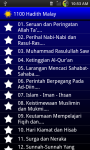 1100 Hadis Terpilih Malay screenshot 1/6