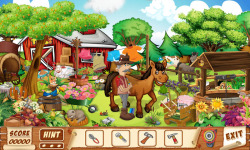 Free Hidden Object Games - The Horse n The Monkey screenshot 3/4