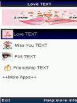 Romantic love TEXT screenshot 1/2