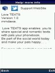 Romantic love TEXT screenshot 2/2