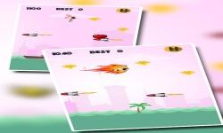 Rocket Girl : Flying Challenge for Pink Princess screenshot 3/5