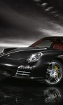 Porsche in Black Live Wallpaper screenshot 1/4