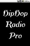 HipHop Radio  Pro screenshot 1/3