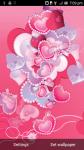 Diamond Hearts Live Wallpaper free screenshot 1/3