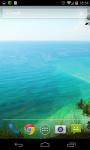 Blue Lagoon Live Wallpaper screenshot 2/5
