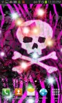 Girly Skull Sparkles LWPfree screenshot 1/3