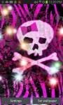 Girly Skull Sparkles LWPfree screenshot 2/3