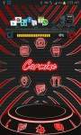 Carmine HD Next Launcher 3D theme screenshot 1/3