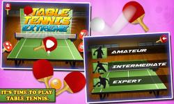 Table Tennis Extreme screenshot 1/6