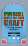 Pinball Block Breaker Craft Free screenshot 3/3