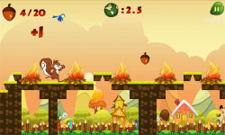 Squirrel Run Free screenshot 2/2
