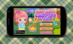 Baby Alice Camping screenshot 1/6