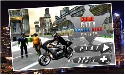 Crime City Police Bike Driver screenshot 1/5