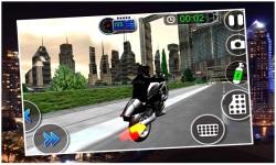 Crime City Police Bike Driver screenshot 2/5