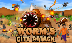 Worm's City Attack - Android screenshot 1/5
