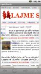 Lajm Shqip App screenshot 2/2