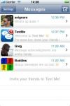 Text Me! - Free SMS & MMS like Messenger screenshot 1/1