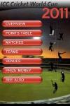 ICC Cricket WorldCup 2011 screenshot 1/1